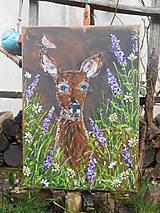 Obrazy - Na lesnej čistinke - 11722016_