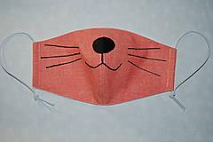 Rúška - rúško mačička - 11721926_