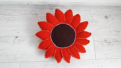 Úžitkový textil - kvetinka - vankúš - 11724600_
