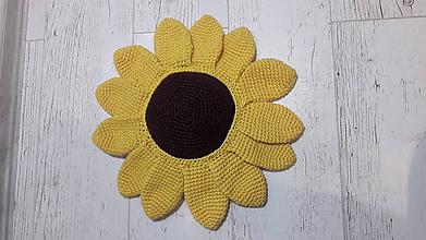 Úžitkový textil - slnečnica  - vankúš - 11724928_