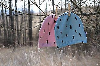 Detské čiapky - Jarné čiapky - 11727467_