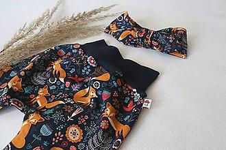 Detské oblečenie - Tepláky líška - 11728186_