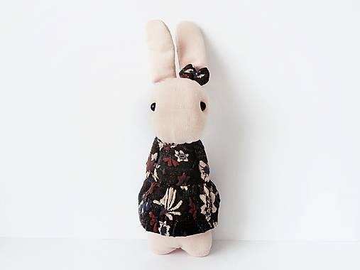 Dekorácie - dekorácia zajačik Pink - 11728037_