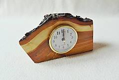 Hodiny - Drevené hodiny Z čerešne - 11725835_