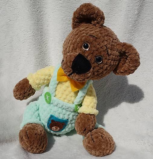 Háčkovaný medvedík František