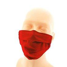 Rúška - Ochranné rúško, dvojvrstvová bavlnená rúška, ochranná maska - 11733434_