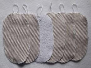 Úžitkový textil - odličovacie tampony C1 - 11729831_