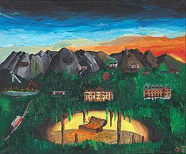 Obrazy - Poklad Tatier - 11732668_