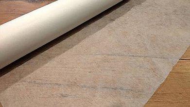 Textil - Nažehľovací vlizelín - cena za 10 cm (Biela) - 11732633_