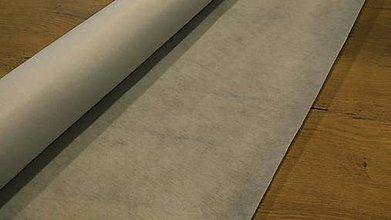 Textil - Vlizelín - Biely - bez lepidla - nenažehlovací -  cena za 10 cm - 11732640_