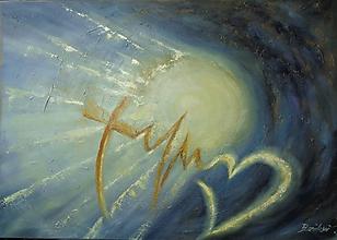 Obrazy - Viera, nádej, láska... - 11731114_