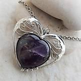 Náhrdelníky - ANNIE heart náhrdelník - 11731346_