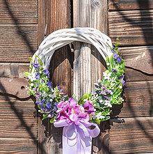 Dekorácie - Venček s levanduľou v Provence štýle - 11730914_