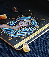 Papiernictvo - Moleskine na zázračné myšlienky (modrá) - 11731427_