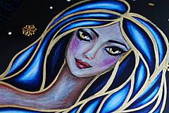 Papiernictvo - Moleskine na zázračné myšlienky (modrá) - 11731428_