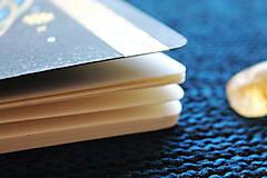 Papiernictvo - Moleskine na zázračné myšlienky (modrá) - 11731431_