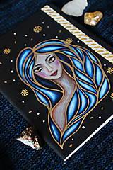 Papiernictvo - Moleskine na zázračné myšlienky (modrá) - 11731438_