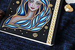 Papiernictvo - Moleskine na zázračné myšlienky (modrá) - 11731439_