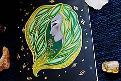 Papiernictvo - Moleskine na zázračné myšlienky (zelená) - 11731515_