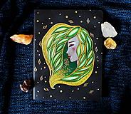 Papiernictvo - Moleskine na zázračné myšlienky (zelená) - 11731516_