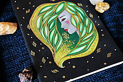 Papiernictvo - Moleskine na zázračné myšlienky (zelená) - 11731521_