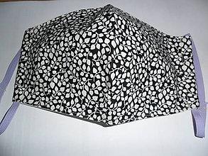 Rúška - Bavlnené rúško dvojvrstvové pánske. - 11732807_
