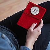 Papiernictvo - Knihovník, knižný diár - červený - 11730722_