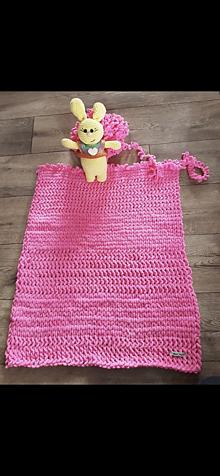 Úžitkový textil - Puffy deka - 11733535_