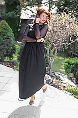 Šaty - ŠATY FLAME - BLACK - 11736168_