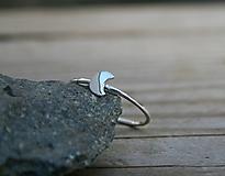 Prstene - Minimalistický s mesiacom - 11735142_