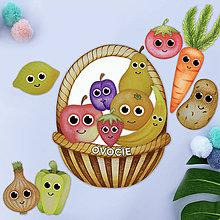 Hračky - Ovocie a zeleninka - PDF súbor na vytlačenie - 11737434_