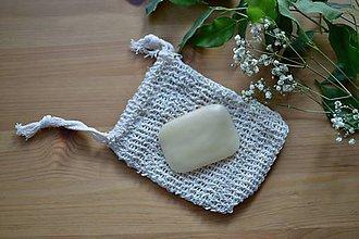Úžitkový textil - Vrecúško na mydlo - 11736303_