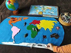 Hračky - Mapa sveta - 11734123_