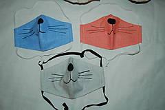 Rúška - rúško mačička - 11737424_