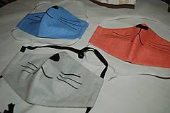 Rúška - rúško mačička - 11737425_