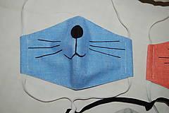 Rúška - rúško mačička - 11737426_