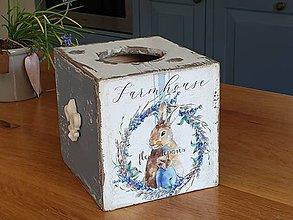 Krabičky - Zásobník na servítky - 11741018_