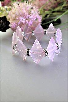Náramky - ruženín náramok luxusný - 11738873_