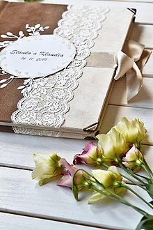 Papiernictvo - Svadobný fotoalbum samolepiaci - 11738367_