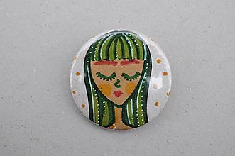 Odznaky/Brošne - Odznak Dievča sníva - 11739351_