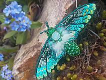 Odznaky/Brošne - Motýľ - 11740416_