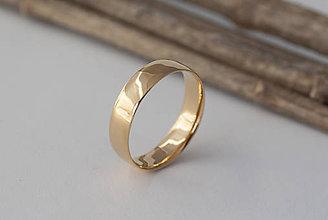 Prstene - Obrúčka z oboch strán zaoblená. - 11741626_