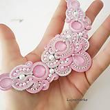 Náhrdelníky - Perla náhrdelník (Ružová+ biela) - 11740645_