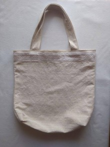 Veľké tašky - Ľanová taška 1 - 11745434_