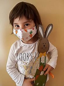 Rúška - Rúško dvojvrstvové pre deti 2-6 rokov - 11746101_