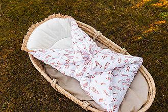 Textil - Zavinovačka s lístím - 11744367_