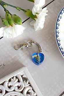 Kľúčenky - Kľúčenka Rasca lúčna srdce (2836 C) - 11742982_