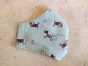 Rúška - I love dogs!  Detské rúško - 11744010_