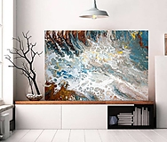 Obrazy - Morská pena 90x60 - 11745776_