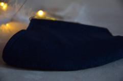 Rúška - Rúško na tvár svadobné, modré - 11736277_